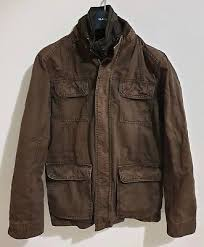 john lewis mens field jacket brown