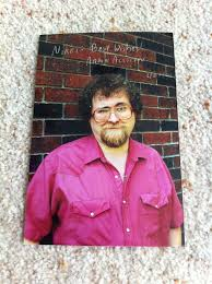 Deceased Aaron Allston Author Star Wars Inscribed Signed Picture ...