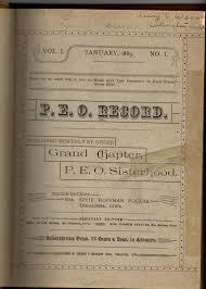 Effie Hoffman Rogers, P.E.O., #WHM2019 - Fraternity History &  MoreFraternity History & More
