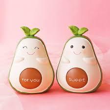 Buy 1 Piece Cute Cartoon Avocado Coin Bank Kids Room Desktop Decor Gift Creative Displays At Jolly Chic