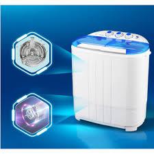 Máy giặt mini 2 lồng giặt (chế độ ngâm, xả, vắt có tia UV diệt ...
