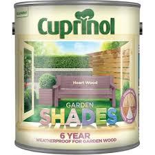 Cuprinol Garden Shades Heart Wood Paint 2 5l Homebase