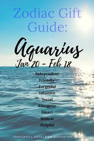 best gift idea gifts for aquarius what