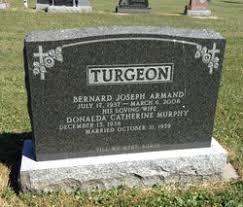 Bernard Joseph Armand Turgeon (1937-2008) - Find A Grave Memorial