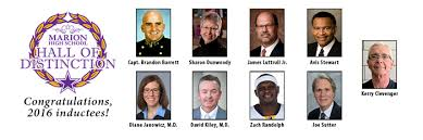 Marion High School Hall of Distinction 2016 inductees named | Marion School  District