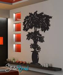 Vinyl Wall Decal Sticker Planted Potted Plant Tree Gfoster160 Stickerbrand