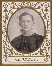 Auction or Sell a Original 1909 T204 Ramly Walter Johnson Baseball Card