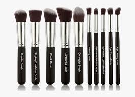 kabuki cosmetic makeup brush set