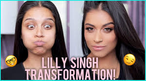 lilly singh to superwoman makeup