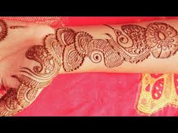 Attractive Mehndi Design Bail Front Hand Images