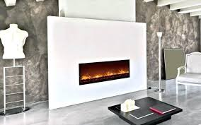 modern flame electric fireplace