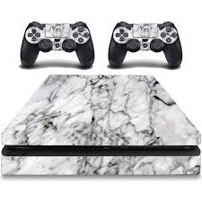 Vwaq Marble Skin Ps4 Slim Skin Decal Playstation 4 Slim Cover Skins Vwaq Psgc7 Video Game Walmart Com Walmart Com