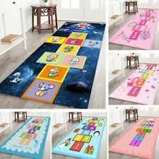 Cartoon Hopscotch Floor Mat Number Rugs Kids Room Rug Bedside Blanket Ebay