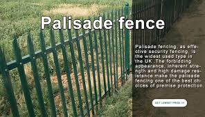 China Supplier Spicket Stockade Fence Steel Palisade Fence Hot Sale View Palisade Fence Yeson Product Details From Anping Yeson Wire Mesh Products Co Ltd On Alibaba Com