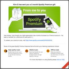 how to give the gift of spotify dummies