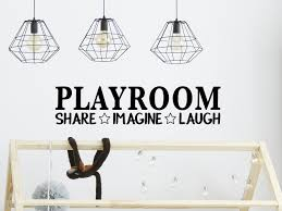 Playroom Share Imagine Laugh Playroom Wall Decal And Playroom Door Decal Story Of Home Decals