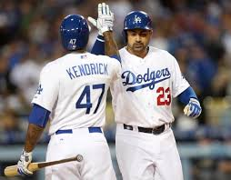 DODGERS: Adrian Gonzalez makes history with 3-HR game in Dodgers ...