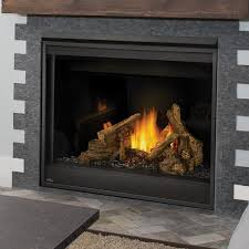 direct vent natural gas fireplace