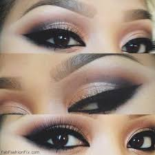perfect cat eye make up look