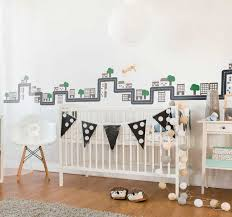 City Valance Wall Sticker Tenstickers