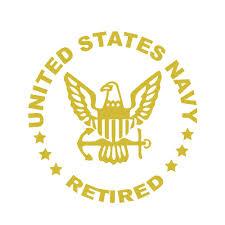 Us Navy Retired Car Decal Aspire Gear