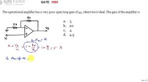 with finite open loop gain
