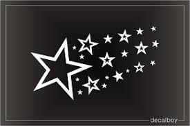 Stars Decals Stickers Decalboy