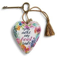 Demdaco Art Hearts You Make My Heart Smile Hearts Desire Gifts