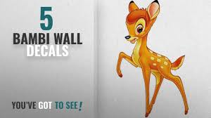Top 10 Bambi Wall Decals 2018 Bambi Disney Decal Removable Wall Sticker Home Decor Art Kids4 Youtube