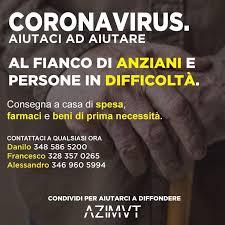 L'AQUILA, FARMACI E SPESA A DOMICILIO AGLI ANZIANI E ALLE PERSONE ...