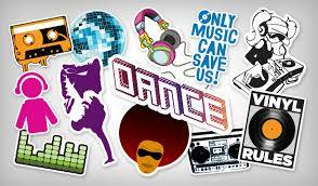 Custom Dance Stickers Highest Quality Stickers Stickeryou