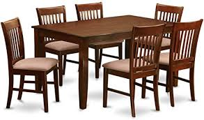 duno7 mah c 7 pc dinette table set