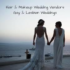 hair makeup artists for same weddings