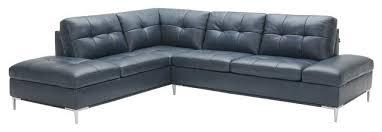 leonardo italian leather sectional sofa