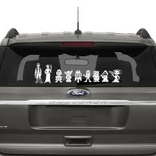 Star Wars Family Car Stickers The Decal Guru