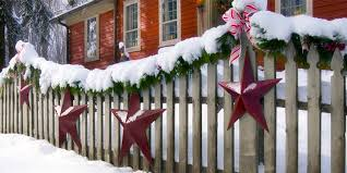 Novel Way To Decorate Your Fence This Christmas Deer Fencers