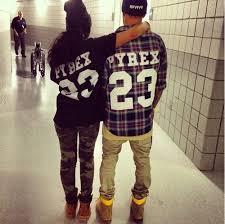 love swag couple girl Black and White style boy pyrex e.g. ...