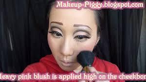 porcelain doll costume makeup tutorial