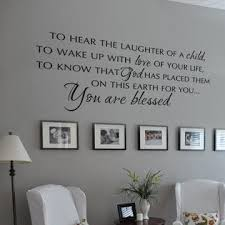 Geckoo Bible Verse Wall Decal You Are Blessed Family Love Life Quote Room Vinyl Decor
