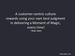 a customer centric culture is key to custserv success customer