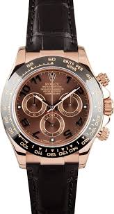 rolex daytona rose gold leather strap
