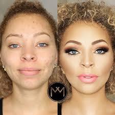 insram makeup transformation