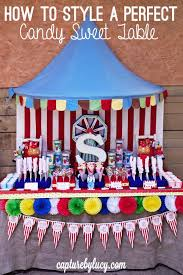 carnival themed party circus birthday