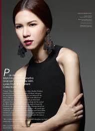 hair styling model angel shen