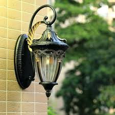 decorative led outdoor wall lights