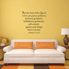 But The Fruits Of The Spirit Wall Quotes Decal Galatians Vwaq Com