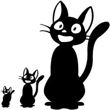 Amazon Com Jiji Decal Kiki Delivery Service Jiji Plush Cat Jiji Cat Stickers For Laptop Computer Apple Iphone Mac Air Macbook Pro Ipad A Jiji Plushie Vinyl Decals Sticker Black Home