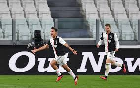 Juve Inter 2-0: gol e highlights del recupero del derby d'Italia 2020.  Bianconeri primi