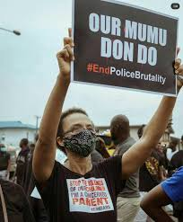 End Sars and Police Brutality now ...