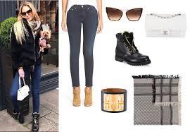 Ladies of London, Adela King Skinny Jeans, Sneakers, Scarf ...